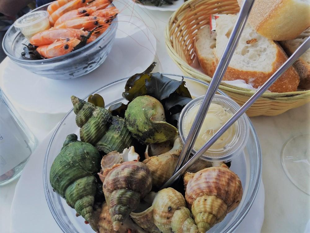 piatto di frutti di mare al marché des capucins