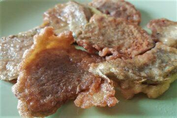 carcioffe ndurate e fritte - ammacucenà