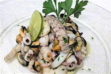 ricca insalata di mare amma cucenà